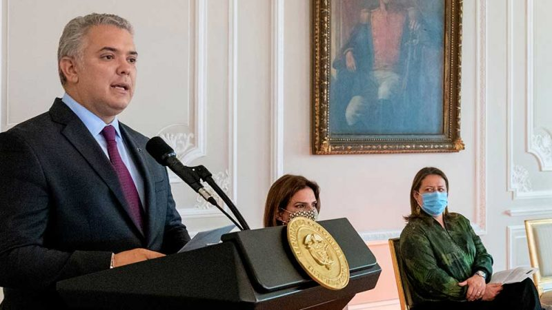La Ley de Inversión Social es la mayor reforma fiscal en la historia del país: Duque