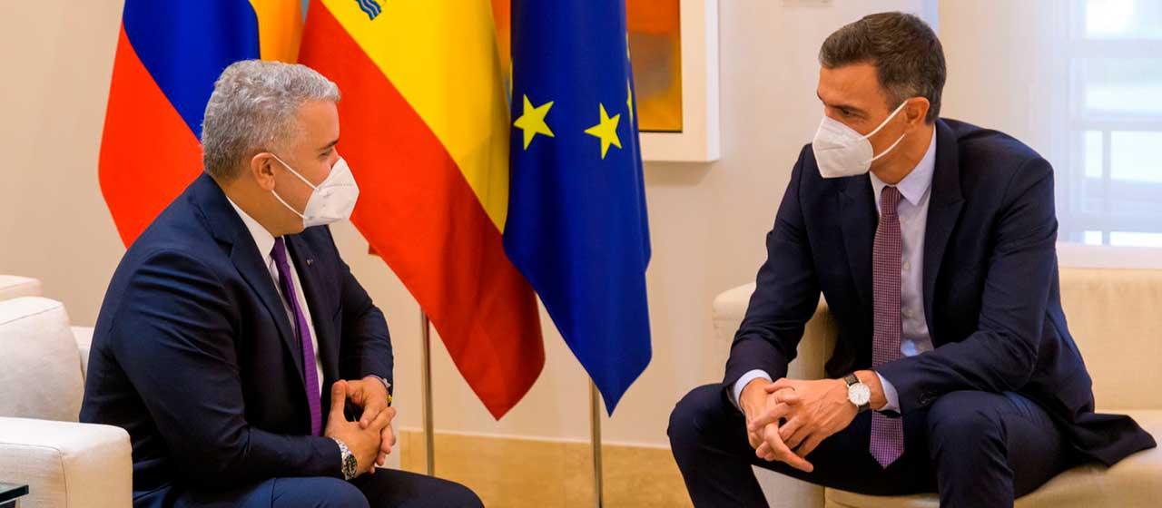 Colombia y España están llevando la relación bilateral a una nueva etapa: Presidente Duque