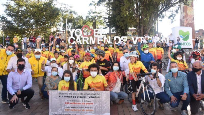 """""""Antioquia en Bici"""", toma fuerza en El Carmen de Viboral"""