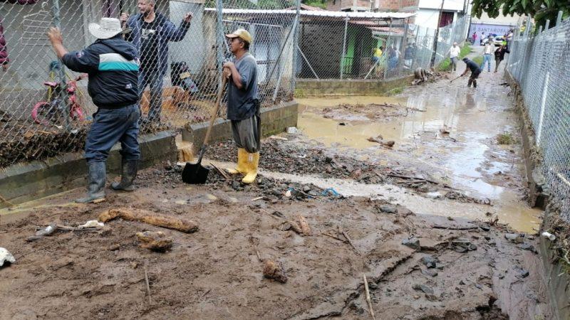 Cuatro municipios del Occidente antioqueño reportaron eventos por fuertes lluvias