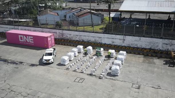 Incautadas en Buenaventura 2,1 toneladas de cocaína que iban hacia México