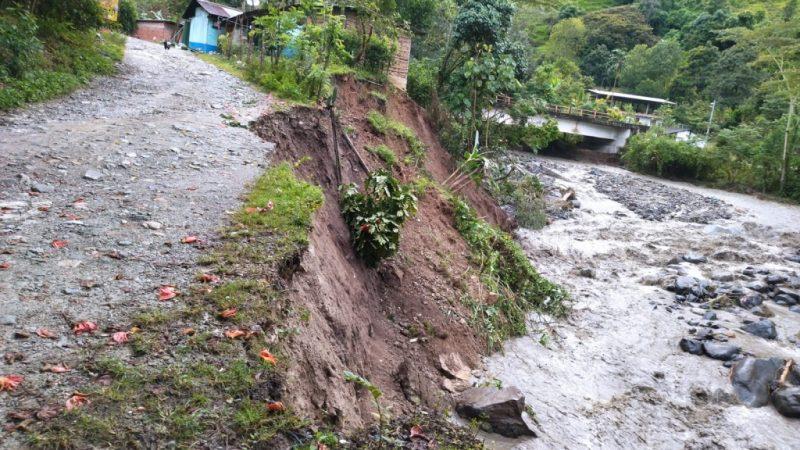 Por fuertes lluvias en Antioquia se presentaron 11 emergencias el pasado fin de semana