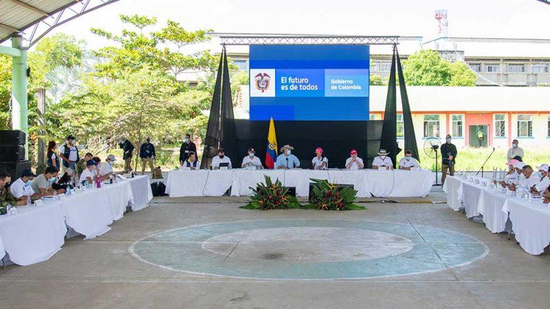 Presidente Duque anuncia solución estructural para La Mojana con inversiones por $2.5 billones en seis años