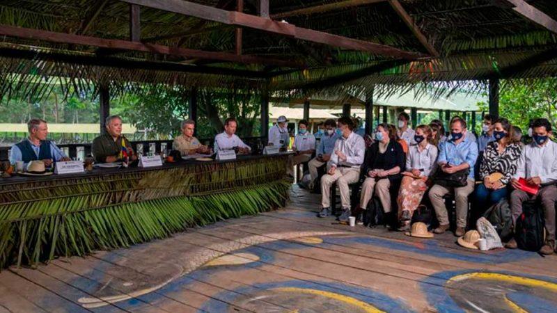 En III Cumbre del Pacto de Leticia, Presidente Duque destaca creación del Fondo de Bioeconomía para la Amazonía con recursos por USD 645 millones