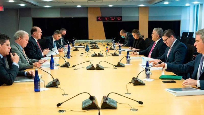 Presidente Duque cierra paquete de financiamiento hasta por USD 2.000 millones en reunión con el Banco Mundial