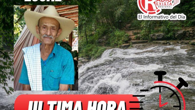 Buscan a Joaquin Sierra,arrastrado por las aguas de la quebrada la loma en Santa Barbara Antioquia