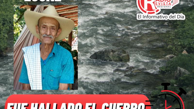 Después de una intensa búsqueda fue hallado el cuerpo sin vida de Joaquín Sierra