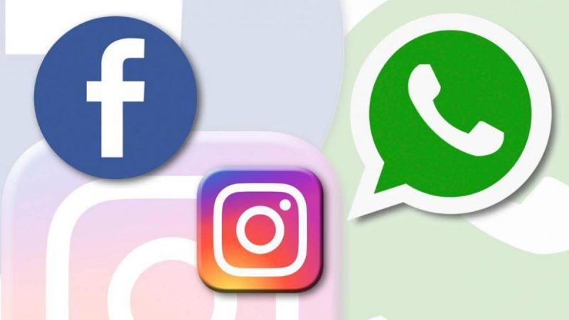 Reportan la caída de WhatsApp Facebook e Instagram