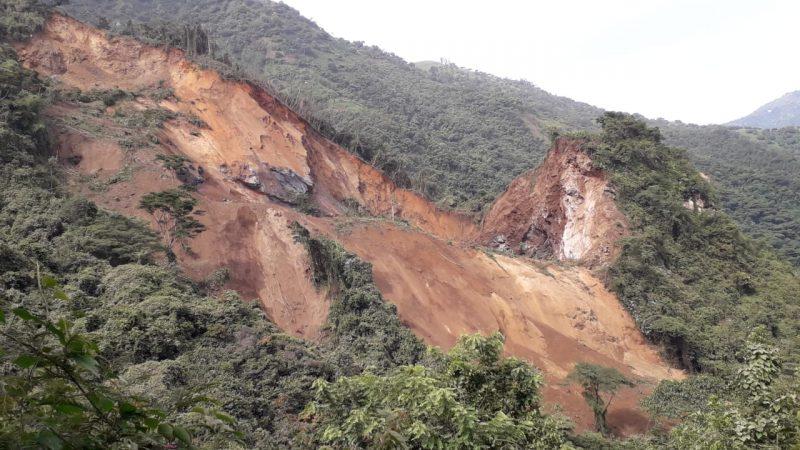 Explosión en el sector de Canteras, en Abejorral