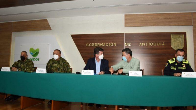 Ministerio de Defensa y Gobernación definieron ruta de acción para seguir atacando el crimen organizado en el Suroeste del departamento