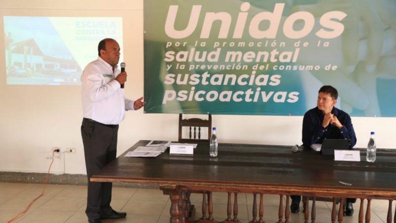 Ministro de Justicia visitó la Escuela Contra la Drogadicción de Antioquia